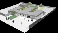 ceip (primary school) estany,architecture. Manrique Planas