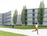 accommodation for sportsmen at the high performance centre in sant cugat,architecture. Manrique Planas