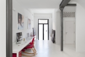 apartment and photography studio op,interiors. Manrique Planas