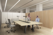 prototypes for banca march's offices,interiors. Manrique Planas